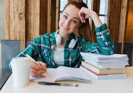 Estudiantes exitosos en la escuela