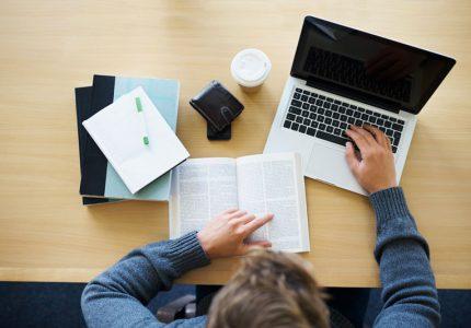 Empieza a estudiar en línea en casa